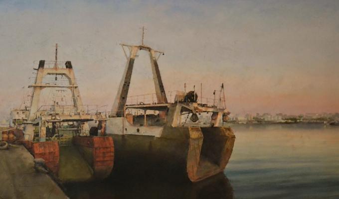 Agua y barcos