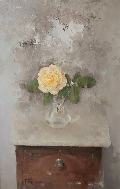 Mesilla Con Rosa Amarilla (Vendido)